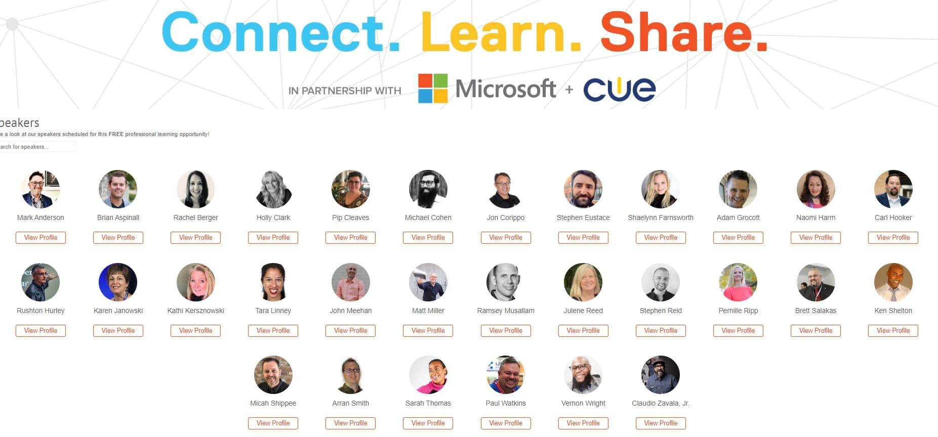 Global EdTech Academy Full Speakers
