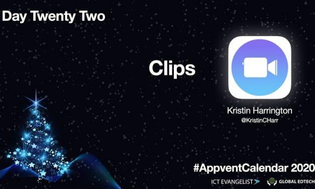 Day 22 – Apple Clips – #AppventCalendar