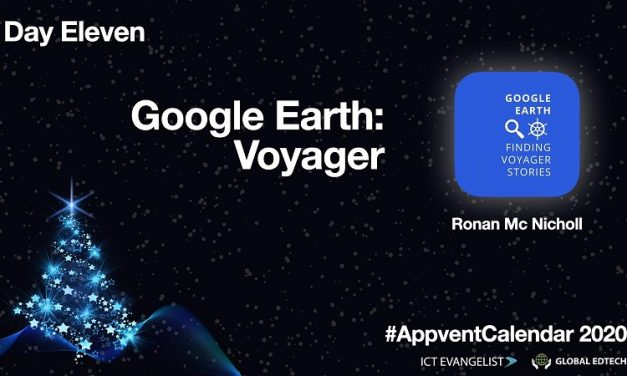 Day Eleven – Digital Storytelling using Google Earth