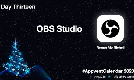 Screencast using OBSProject – Day 13