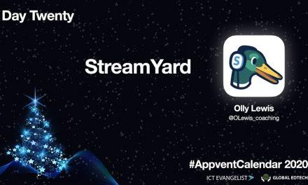 Live streaming using @StreamYardApp – Day 20