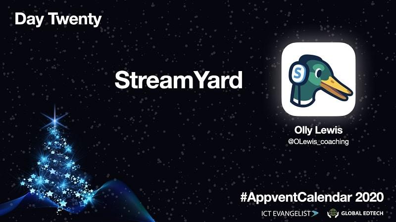 Live Streaming using Streamyard