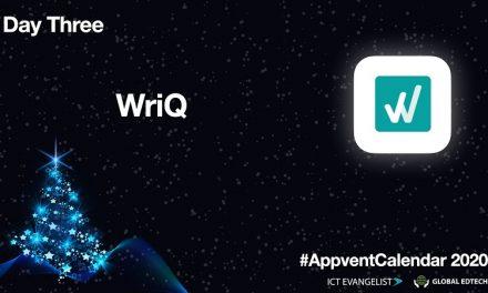 AppVentCalendar – Day Three – WriQ from @Texthelp