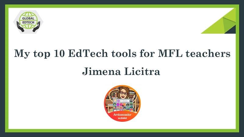 My top 10 EdTech tools for MFL teachers