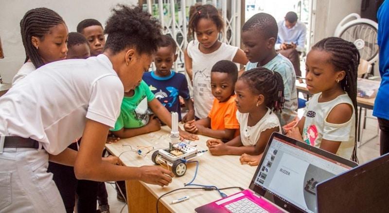 Celebrating Africa Day everyday through Coding and Robotics
