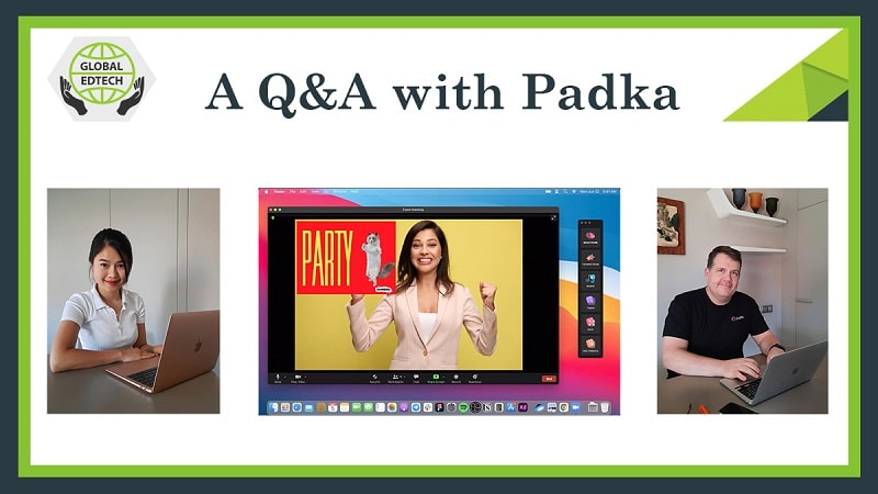 Creating engaging online lessons...A Q&A with the founders of Padka