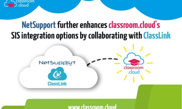 Netsupport classroom.cloud now supports SIS integration via ClassLink
