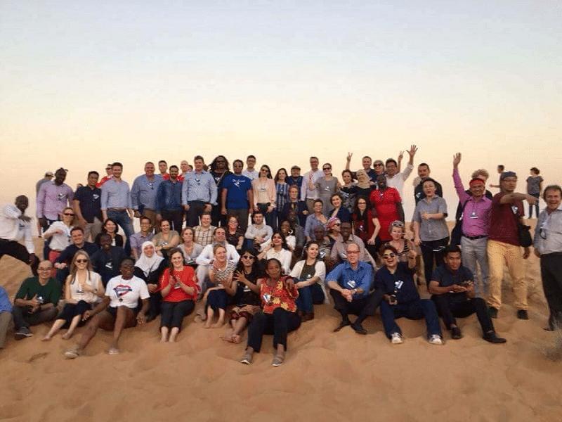 Group - Global Teacher Meeting